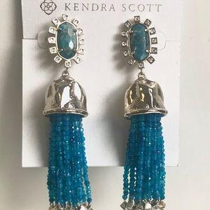 Kendra Scott tassel drop earrings